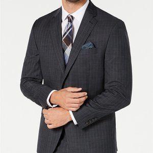 Lauren Ralph Lauren Men's Stripe Suit Jacket 50L